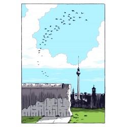 Jason Lutes - Stadt der Zeichen - Berliner Mauer